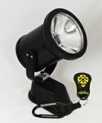 360,000 candlepower spotlight only vehicle mounted